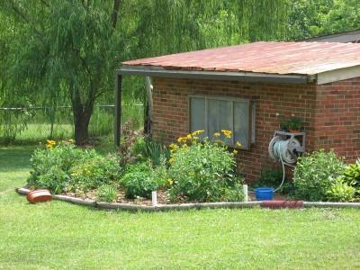 Well-house garden