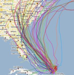 spaghetti plot